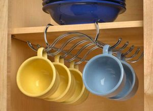 Storage for cups